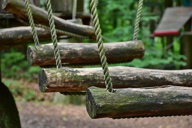 Park linowy w krynicy